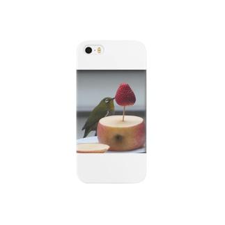 めじろNo1 Smartphone cases