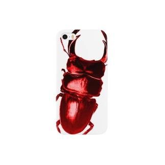 Hand-OOKUWA-RED スマートフォンケース