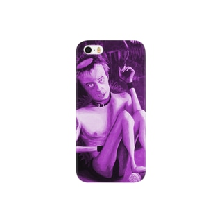 Hand-80s PUNKS-PURPLE Smartphone cases