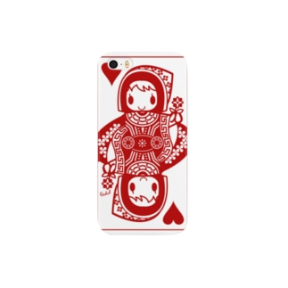 QUEEN OF HEARTS Smartphone cases