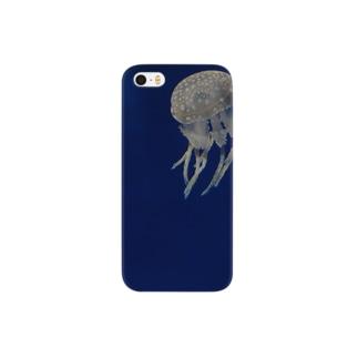 ふわふわ海月 Smartphone cases