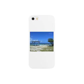 喜界島ビーチ Smartphone cases