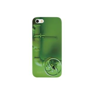 グリーンの配管 Smartphone cases
