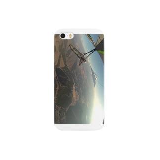 富士山に向かって飛べ! Smartphone cases