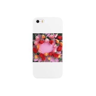 薔薇バラ Smartphone cases