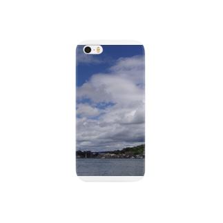 雲と海 Smartphone cases