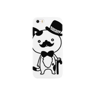 紳士ねこ Smartphone cases