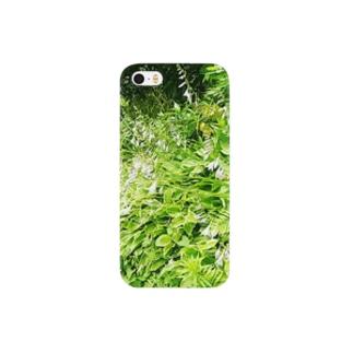 庭に寄せて Smartphone cases