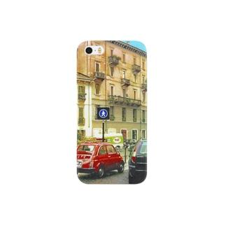雨上がりの散歩道 Smartphone cases
