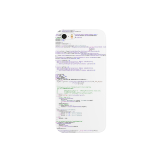 bugcloudのソースコード(Objective-C) Smartphone cases