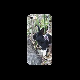 音楽工房田中(YouTuber,Music,Healing)の探検 黒うさぎ Smartphone cases