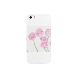 桃色たんぽぽ Smartphone cases