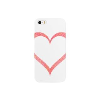 Heart スマートフォンケース
