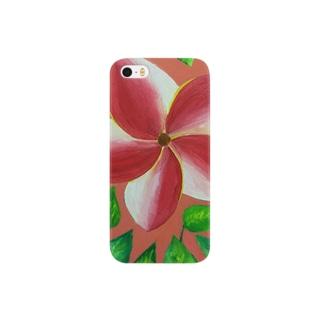 pink flower Smartphone cases