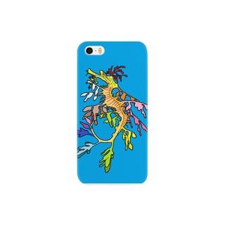 タツノオトシゴ Smartphone cases