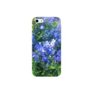 青いハナ Smartphone cases