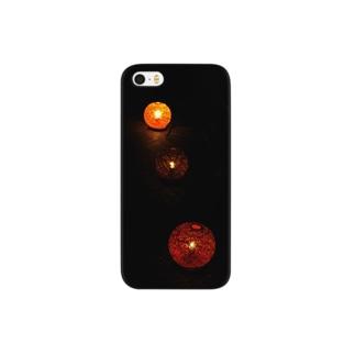 うゆるりの#4 三つ灯 Smartphone cases