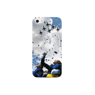 空と男と飛行機 Smartphone cases