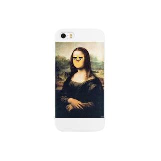 モナ・リザ Smartphone cases