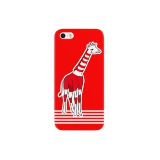 あかいきりん Smartphone cases