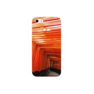 伏見稲荷大社 Smartphone cases