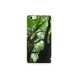 森林浴 Smartphone cases