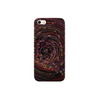 回転花火#001 Smartphone cases
