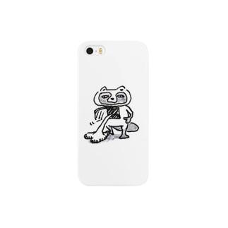 たぬき(はーと) Smartphone cases