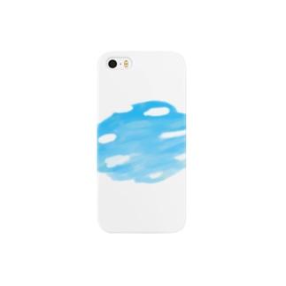 空を剥がす Smartphone cases