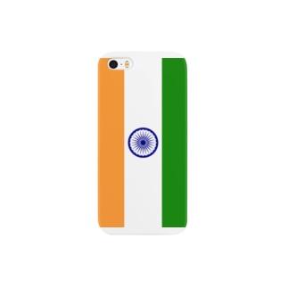 インド国旗 スマートフォンケース