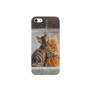 居眠りネコ Smartphone cases