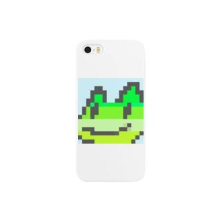 koki hashimotoのカエルくん(小さめ) Smartphone cases