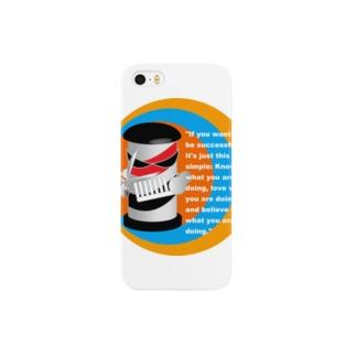 悪チョキちゃん(ロゴ無し) Smartphone cases
