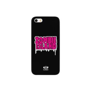 ゾンビ島ロゴ Smartphone cases
