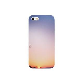 夕焼けの色 Smartphone cases