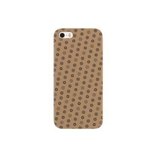 スチームパンク風歯車デザイン02 Smartphone cases