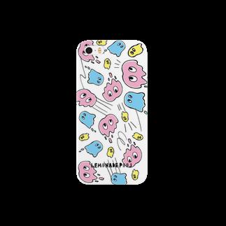 レモネードプールのスライムオバケちゃん Smartphone cases