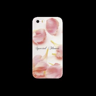 こんなの欲しいをご提供!ArtDesiartの♡ピンクカーネーション♡ Smartphone cases