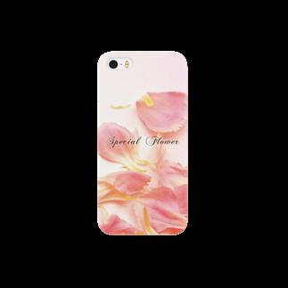 こんなの欲しいをご提供!ArtDesiartの♡ピンクカーネーション2♡ Smartphone cases