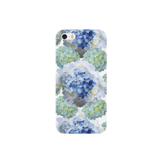 こんなの欲しいをご提供!ArtDesiartのあじさいコラージュ Smartphone cases