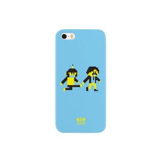 ゾンビ島キャラクター Smartphone cases