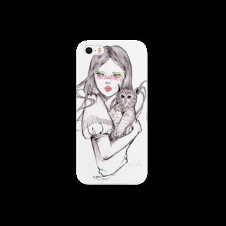 momokoharadaの懐であたためました Smartphone cases