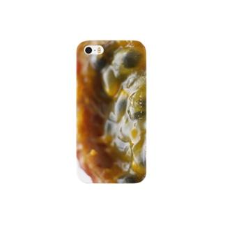 AD-YのI'm here. パッションフルーツ Smartphone cases