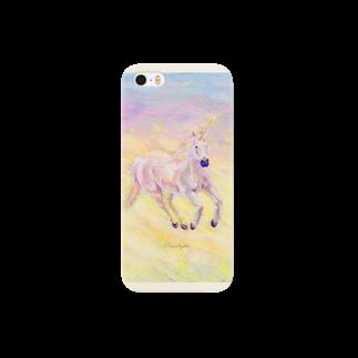 Sari*Prism lights の☆ユニコーン☆ Smartphone cases