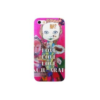 『ラヴ・ラヴ・ラヴ』iPhoneケース Smartphone cases