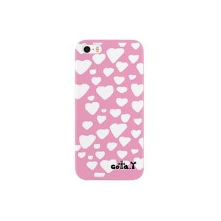 ゴータ・ワイのハートNo.1 ピンク Smartphone cases