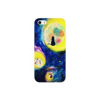 海と月 Smartphone cases