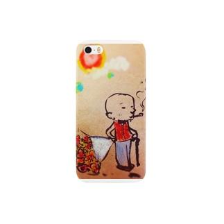 おじちゃんウキウキどきどき Smartphone cases