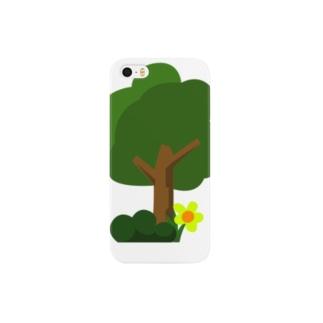 木と幸せ Smartphone cases