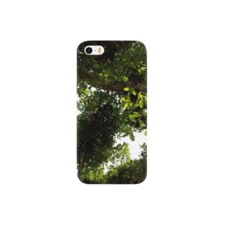 五月晴れの木漏れ日 Smartphone cases